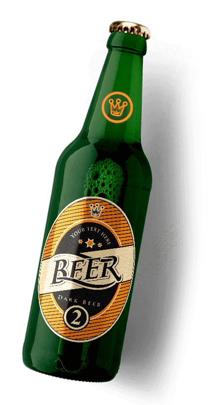 green dark beer