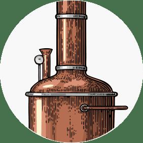 beer brewing cartoon