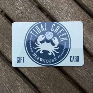 Tidal Creek Brewhouse gift card