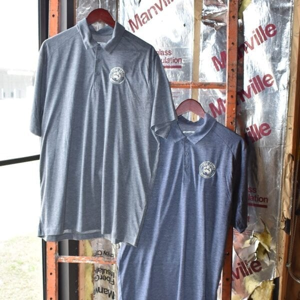 Embroidered men's polo