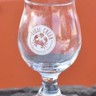 Tidal Creek Brewhouse belgian tulip glass