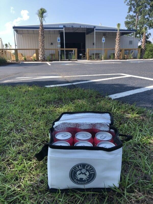 Tidal Creek Brewery 6-pack cooler bag