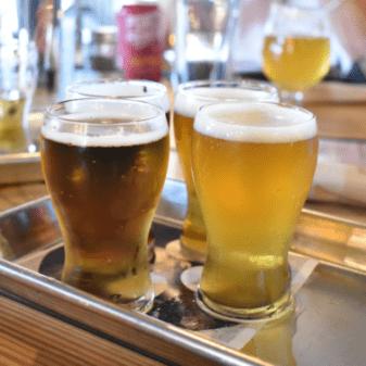 myrtle beach drinks at Tidal Creek Brewhouse