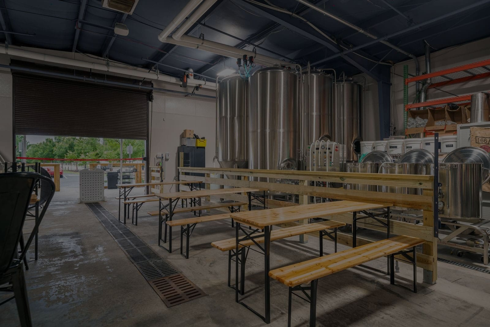Tidal Creek Brewhouse brewing station