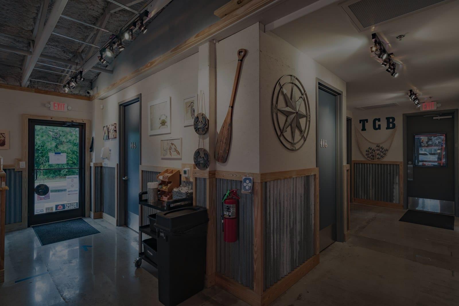 Tidal Creek Brewhouse restaurant interior