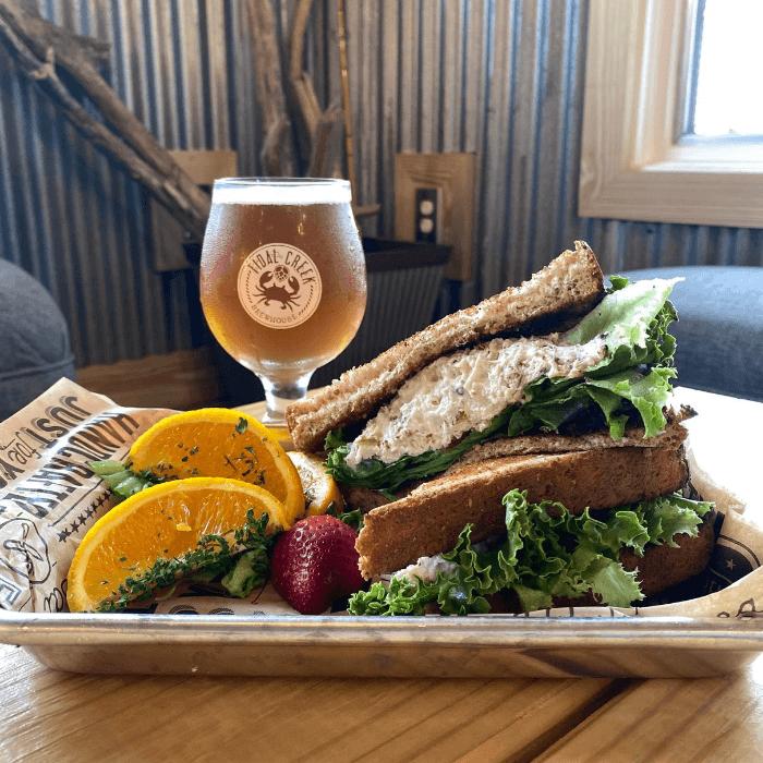 turkey sandwich tidal creek brewhouse
