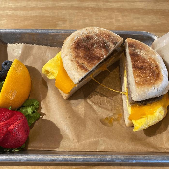 egg and sausage sandwich myrtle beach