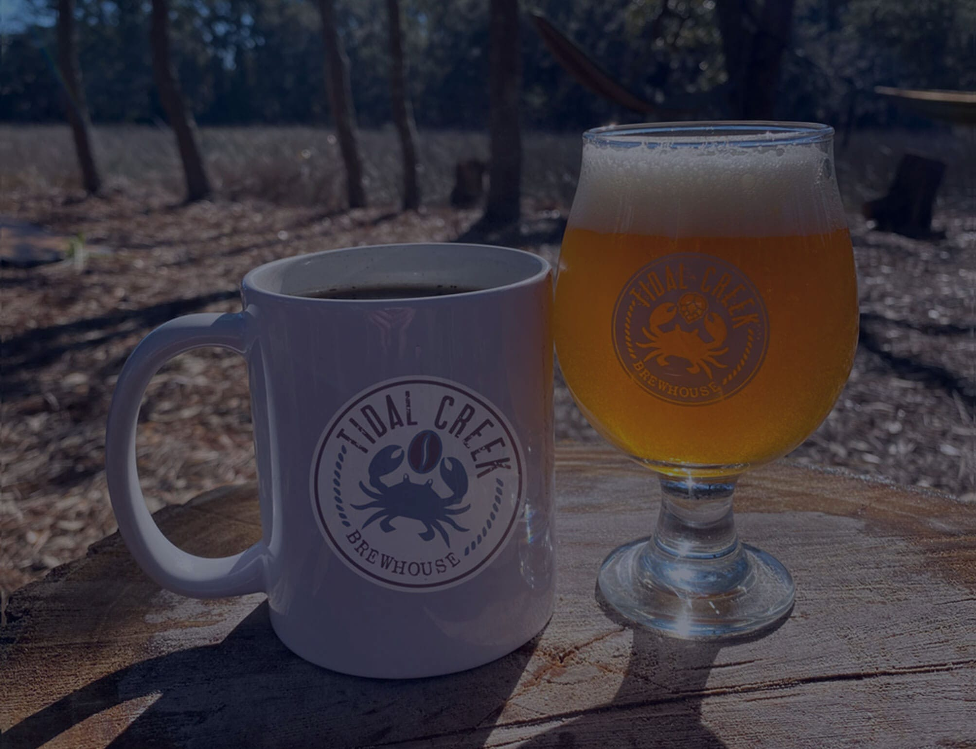 coffee and beer in myrtle beach
