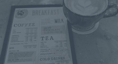 breakfast and coffee in myrtle beach