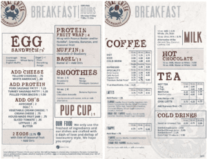 tidal creek brewhouse breakfast menu