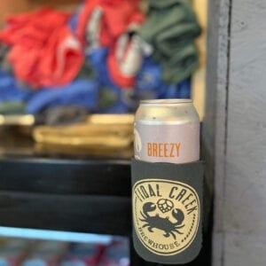 magnetic beer can koozie