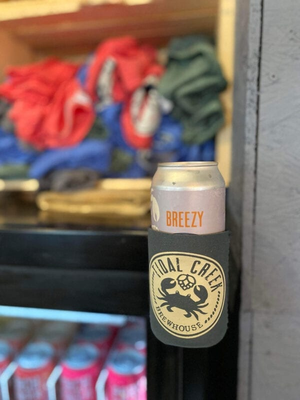 magnetic beer can koozie