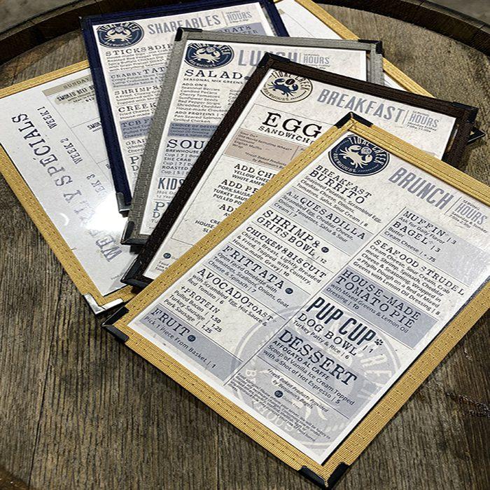 tidal creek brewhouse menus