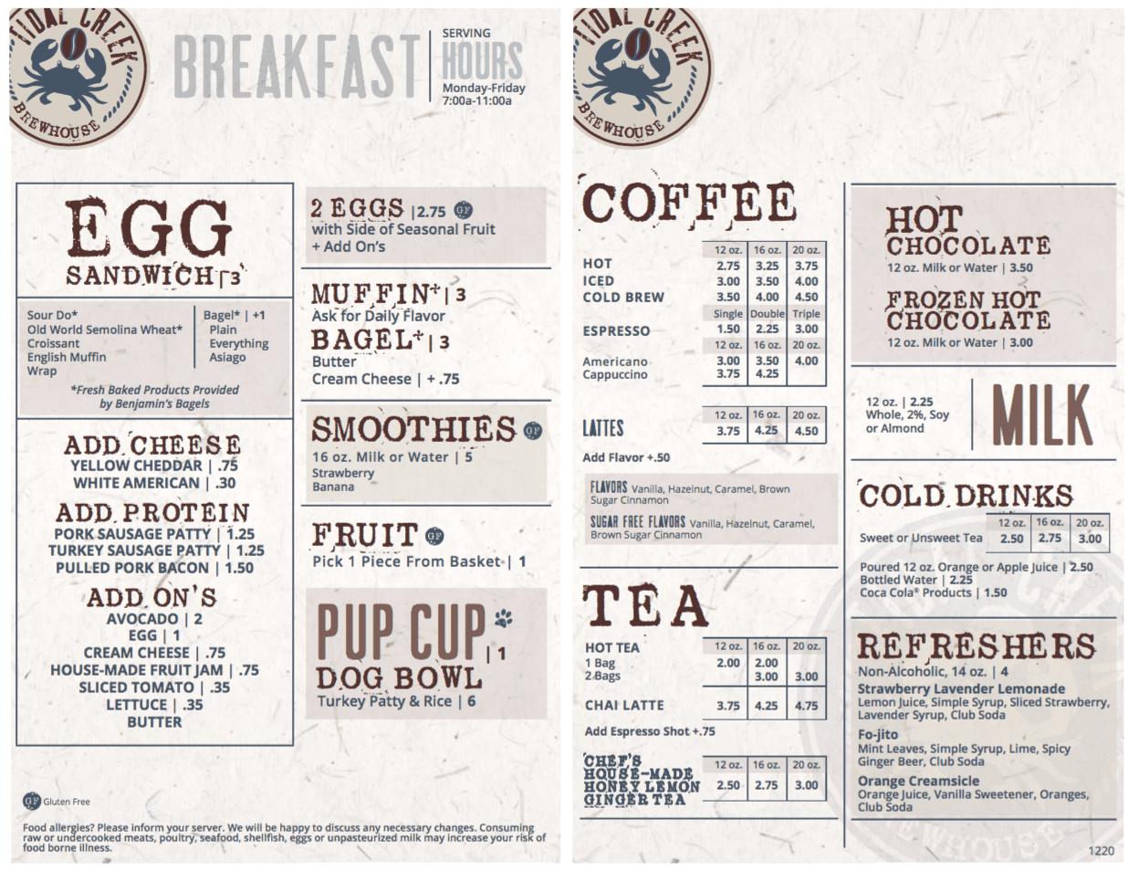 TCB breakfast Jan 2021