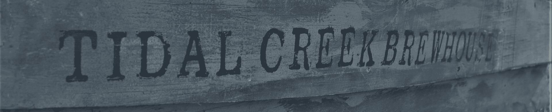 tidal creek brewhouse name on aa boat