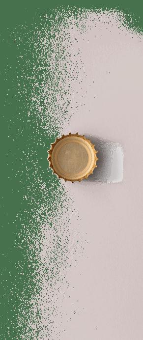 beer cap transparent